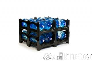 Полимерные поддоны для 19-литровых бутылей