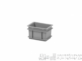 Пластиковый контейнер 200x150x120