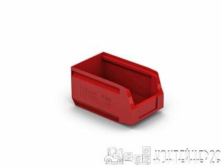 Складской лоток 250x150x130 красный