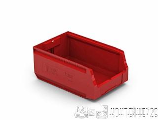 Складской лоток 350x225x150 красный