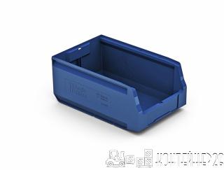 Складской лоток 350x225x150 синий