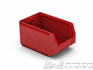 Складской лоток 350x225x200 красный