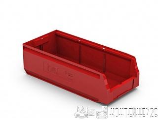 Складской лоток 500x225x150 красный