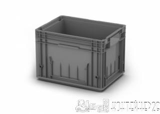 Пластиковый ящик 400x300x280