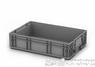 Пластиковый ящик 600x400x150