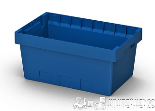 Полимерный контейнер 490x330x210