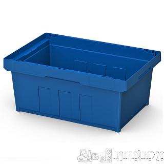 Полимерный контейнер 600x400x220