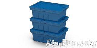 Полимерный контейнер 600x400x270