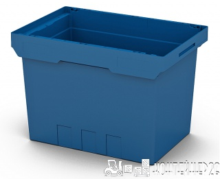 Полимерный контейнер 600x400x420