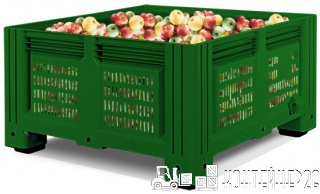 Контейнер для яблок 1130x1130x580