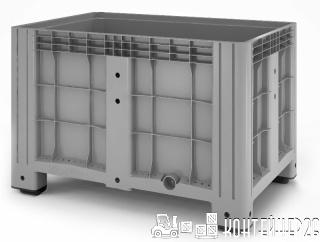 Цельнолитой пластиковый контейнер iBox 1200х800