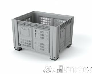 Перфорированный пластиковый контейнер iBox 1200х1000