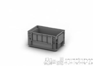 Пластиковый контейнер 300x200x150